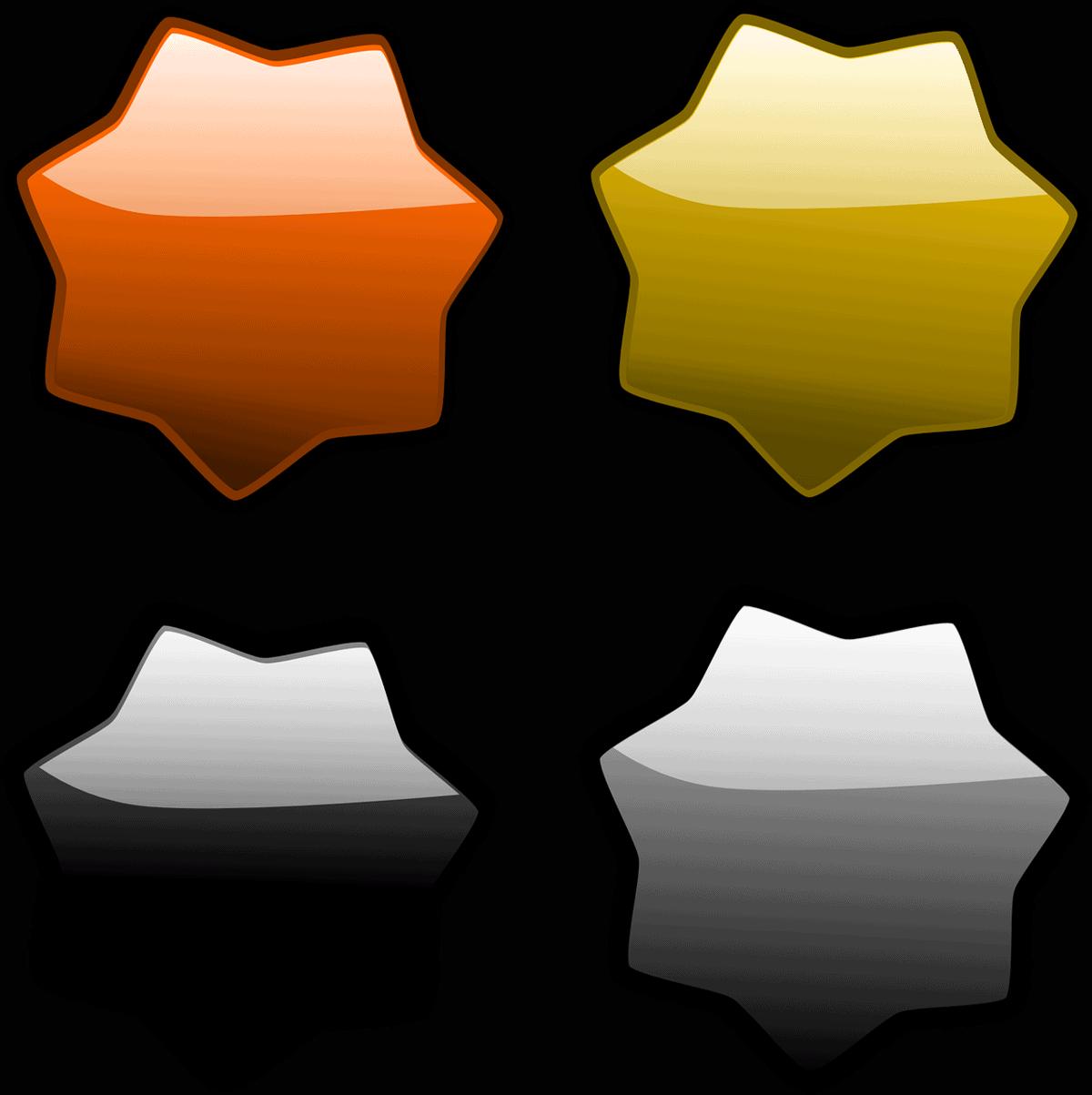 סוגים שונים של מדבקות